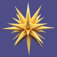 Adventsstjerne-gul